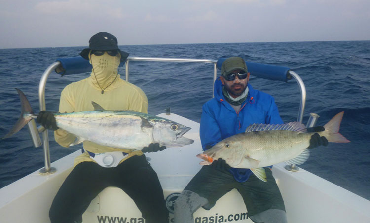 No35_Dogtooth-Tuna_Long-nose-emperor_double-hookup_fishing_jigging_andaman_Shimano-Stella_gamefishingasia_boat_big-fish_gtpopping_boat-charter_anglers_Suresh-Kumar_Arjun-Mark