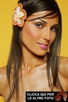 Monica Somma, la modella dello spot Chateau D'Ax