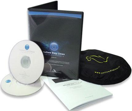 Caja de discos con Linux para PS3.