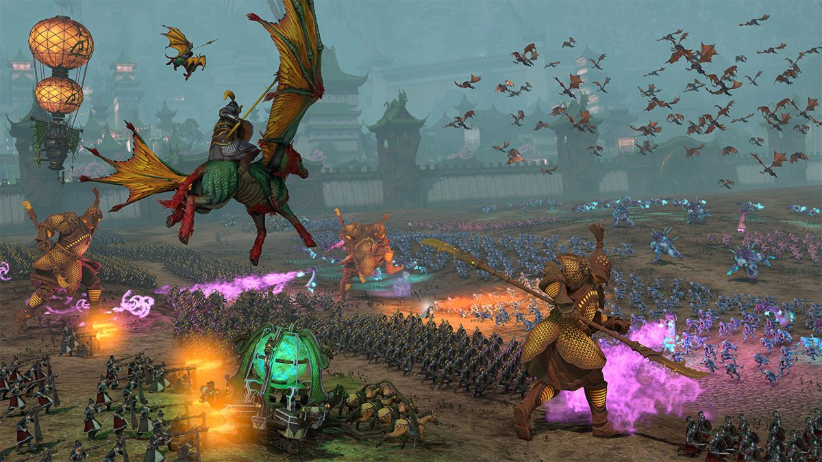 Total War: Warhammer 3 trailer shows Grand Cathay and Tzeentch rumbling