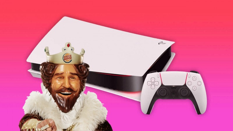 PlayStation Reveals PS5 Box With The Help Of Burger King