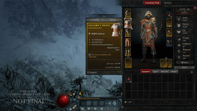 d4 rogue inventory charactersheet