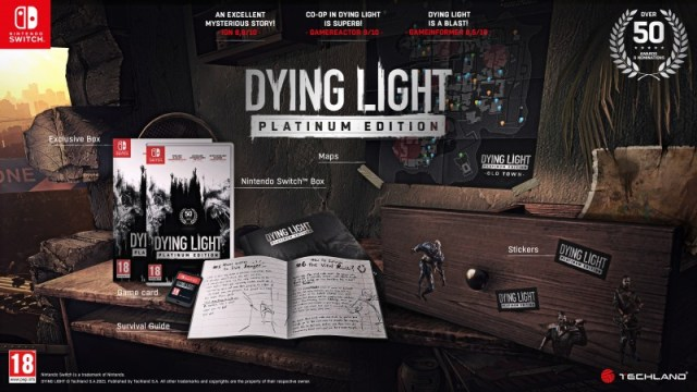 Dying Light Is Leaping To Switch With New Platinum Edition 2