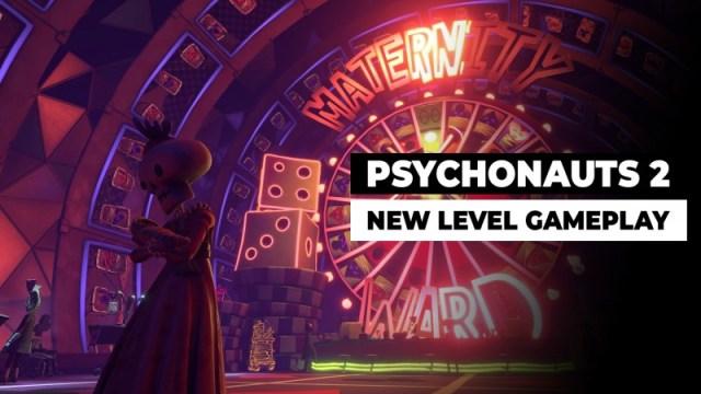 Psychonauts 2: Exclusive Look At New Level Gameplay (4K) 2