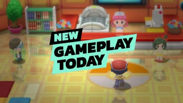 Pokémon Brilliant Diamond And Shining Pearl | New Gameplay Today 2