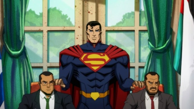 Watch This Exclusive Clip Of Superman Wrecking Things In Injustice 2