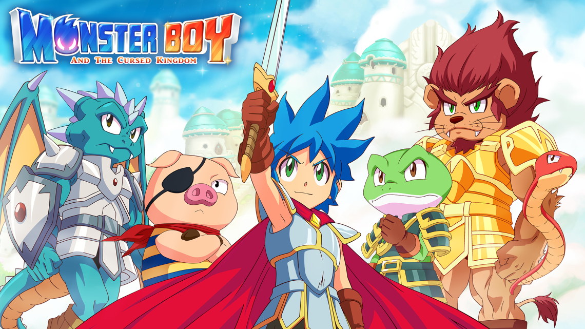Monster Boy and the Cursed Kingdom – Update bringt NS-Lite Color Änderung