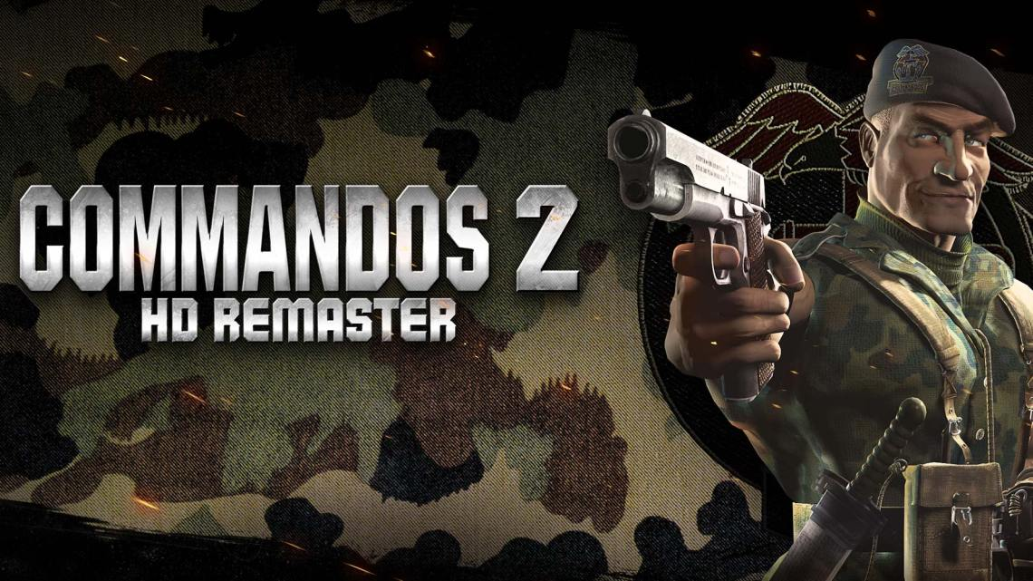 COMMANDOS 2: HD REMASTER – Ab heute für Nintendo Switch