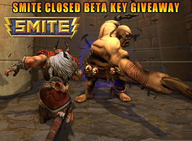Smite Closed Beta Giveaway Promo Codes