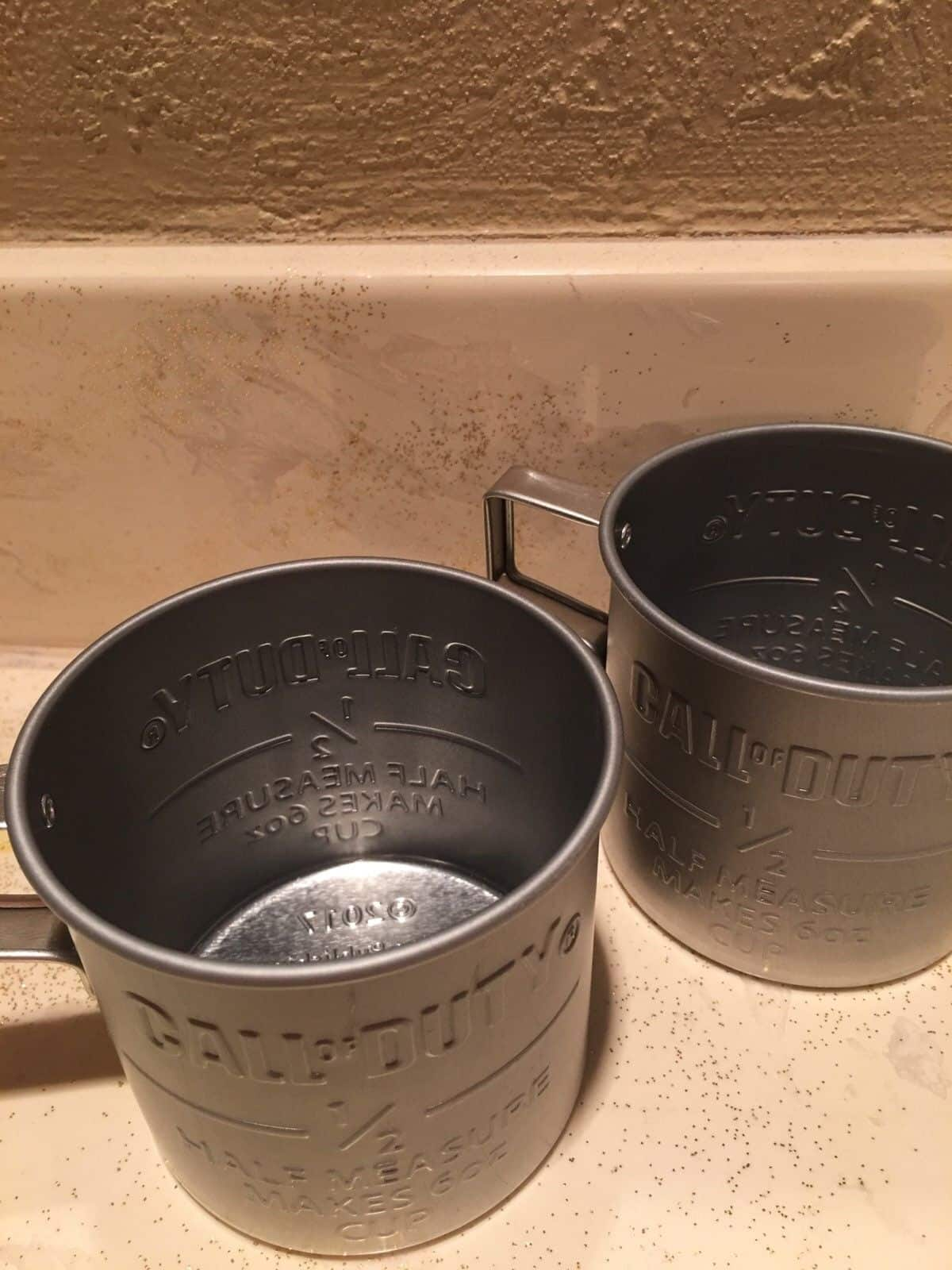 Call Of Duty WW2 Tin Cup Activision Xbox Playstation FPS