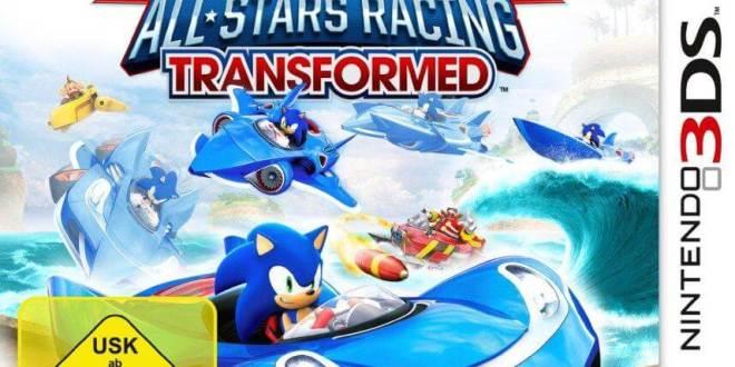 gamelover Sonic und SEGA All-Stars Racing Transformed