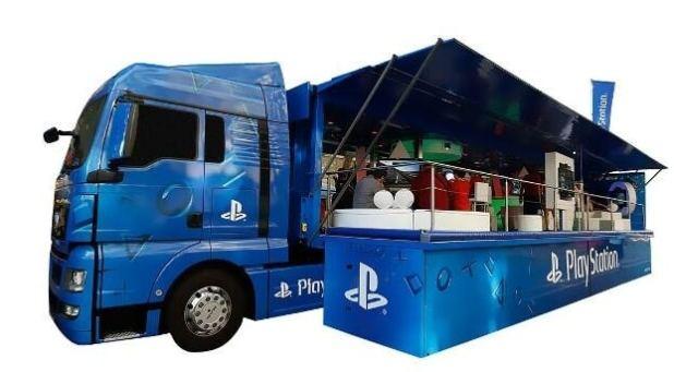 gamelover PlayStation 4 Truck