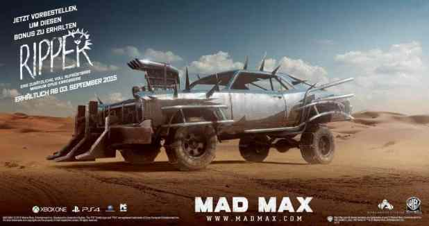 gamelover Mad Max Ripper