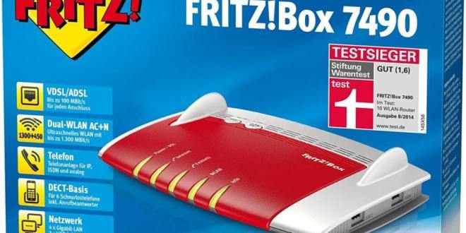 gamelover Fritz!Box 7490