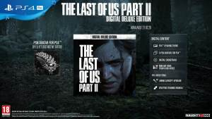 gamelover The Last of Us Part 2 Digital Deluxe Edition