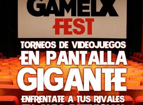 GAMELX Fest – Torneo en pantalla GIGANTE