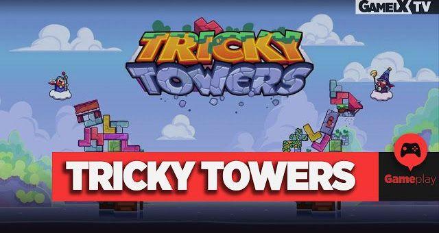 Jugando a Tricky Towers con Gunkaiser y su hija | Gameplay