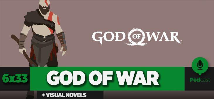 GAMELX 6×33 – Historias interactivas y visual novels + God of War