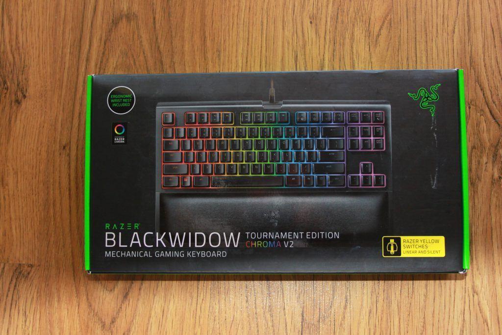 análisis teclado razer Blackwidow