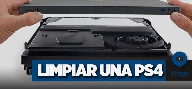 Cómo limpiar una PlayStation 4 | Vlog