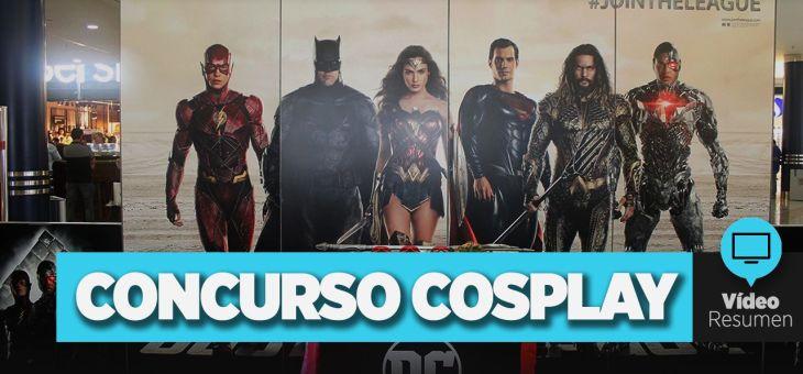 Vídeo Resumen del Concurso de Cosplay de La Liga de la Justicia