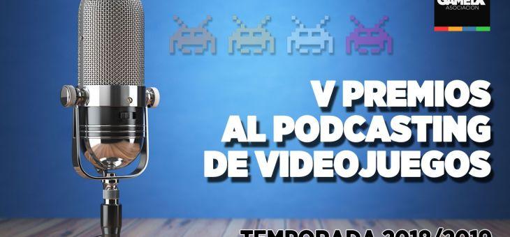 Nominados a Mejor Podcast de Videojuegos #PremiosGX