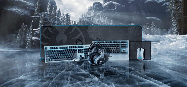 Equípate con los perifericos Razer edición especial Gears