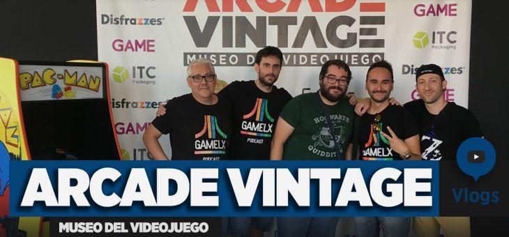 Visita al Museo del Videojuego Arcade Vintage