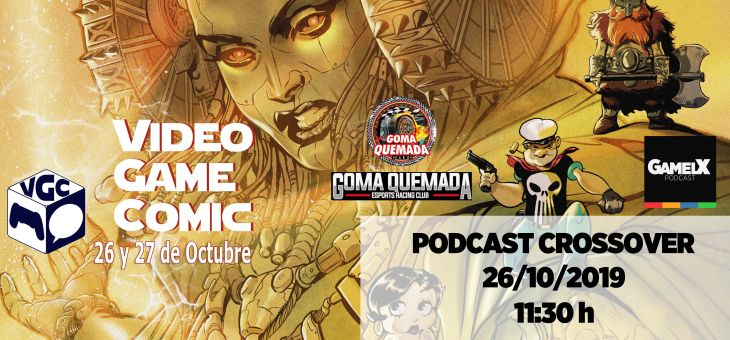 Próximo Podcast en directo en el VGC (Video Game Comic)