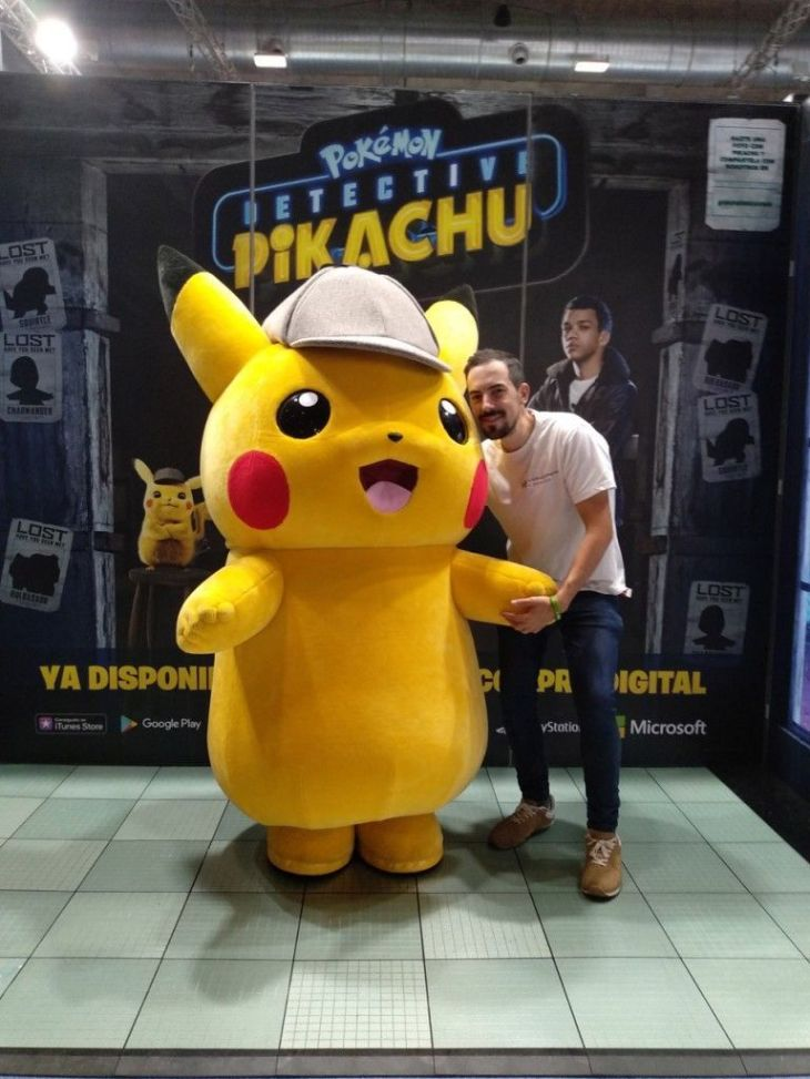 detective pikachu madrid games week