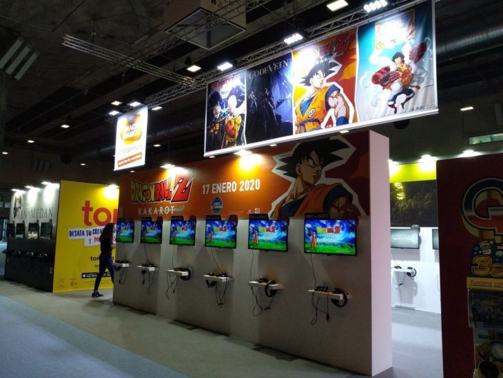 dragon ball madrid games week