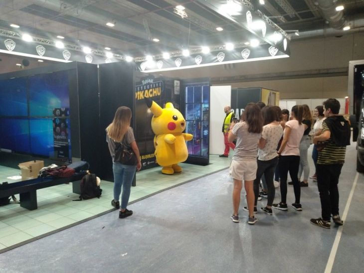 pikachu madrid games week