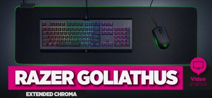 Review: alfombrilla Razer Goliathus Extended Chroma