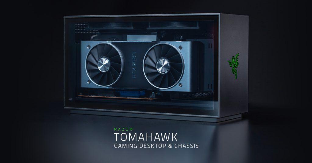 nuevo equipo de sobremesa gaming razer tomahawk
