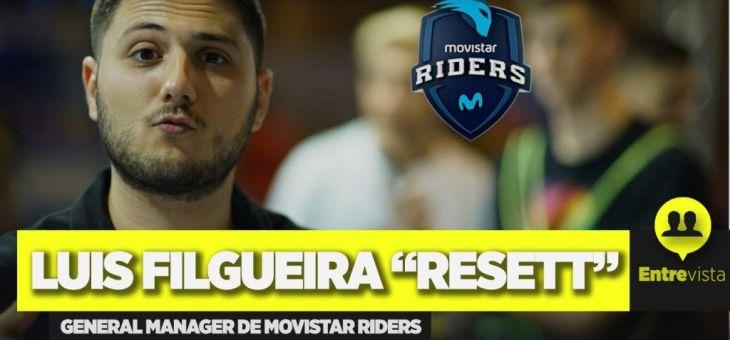 """Entrevista a Luis Filgueira, """"Resett"""", de Movistar Riders"""