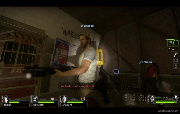 Keith Replacing Nick Left 4 Dead 2 GameMaps