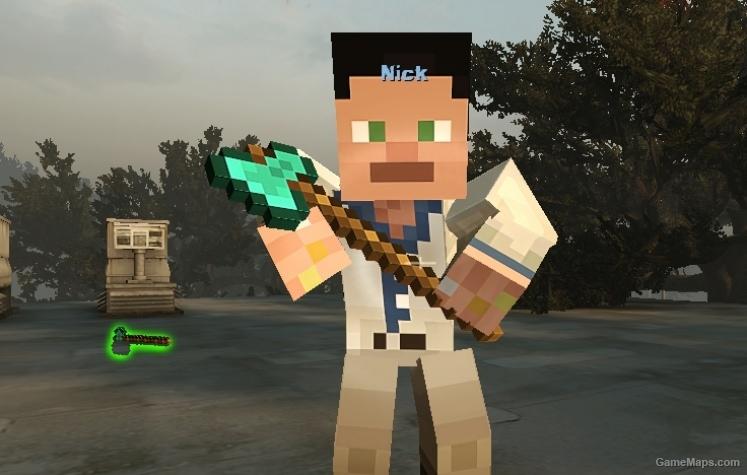 Minecraft Melee Weapons Left 4 Dead 2 Gamemaps