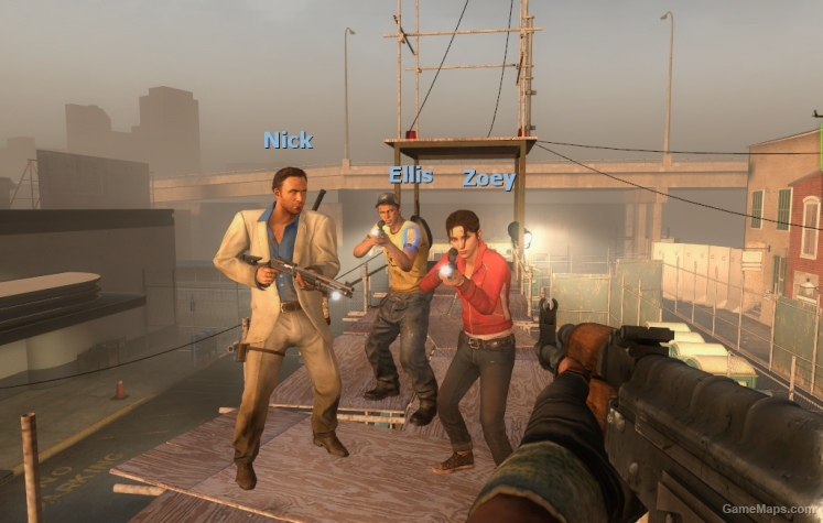 Zoey Replaces Rochelle Left 4 Dead 2 Gamemaps