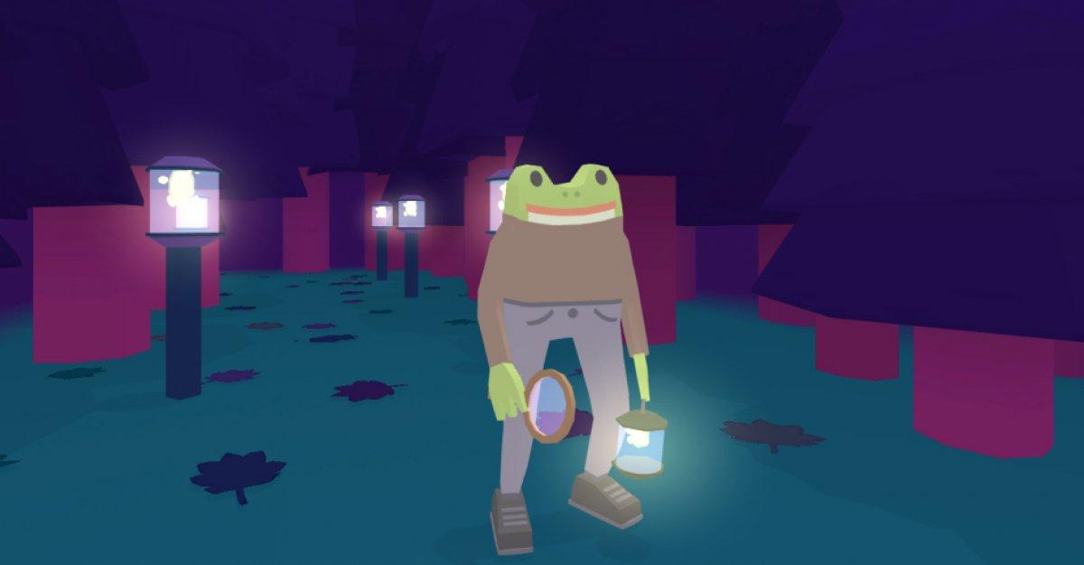 Risolvi i misteri del selvaggio western in Frog Detective 3