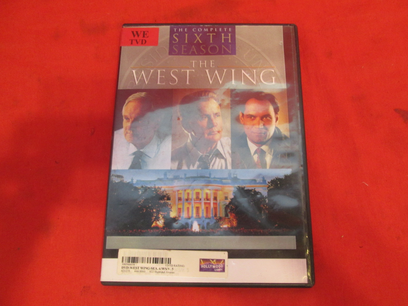 The West Wing Season 6 Disc 5 On DVD With Martin Sheen