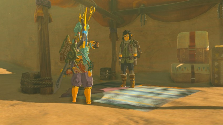 Zelda Breath of the Wild mini sfida ottava paladina Boten Nintendo Wii U Switch Gamempire