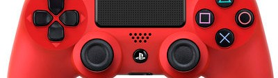 PlayStation 4 DualShock 4 controllers red