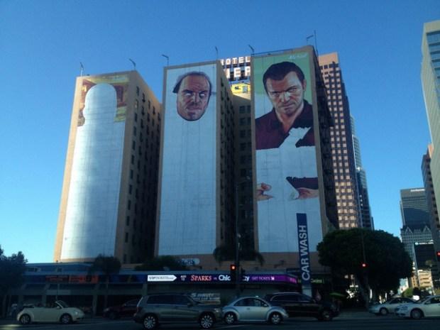 GTA 5 mural