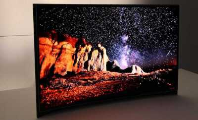 Curvy $15,000 OLED will blow you away