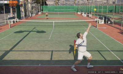 gta 5 tennis