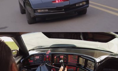 This is a video of the Knight Rider KITT replica that Chris Palmer built out of a 1991 Pontiac Trans Am (the original KITT was an '82).