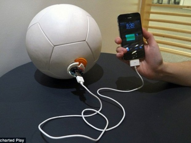 Football Will Charge Phones