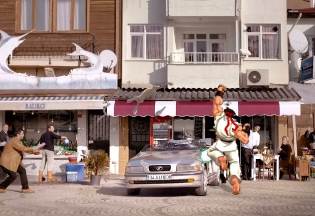 Ryu Is Kicking Ass in a Turkish Car Insurance Commercial