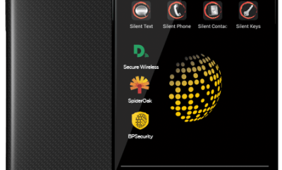 LAUNCH OF THE BLACKPHONE