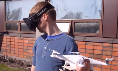 Fly a Drone With Oculus-Controlled Video Camera